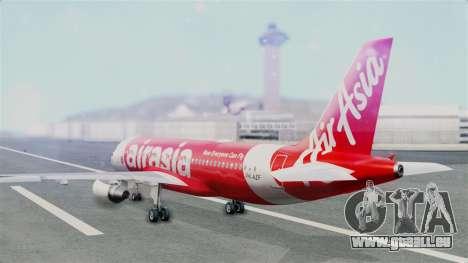 Air Asia Airbus A320 PK-AZF pour GTA San Andreas laissé vue