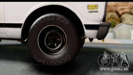 Chevrolet C10 1972 für GTA San Andreas rechten Ansicht