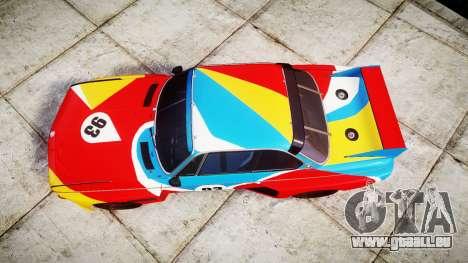 BMW 3.0 CSL Group4 1973 Art für GTA 4 rechte Ansicht