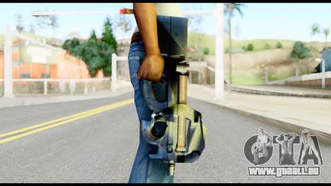 P90 from Metal Gear Solid für GTA San Andreas dritten Screenshot