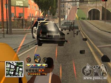 C-HUD Farbe (verbessert) für GTA San Andreas zweiten Screenshot
