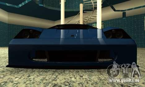 HD Turismo für GTA San Andreas Rückansicht