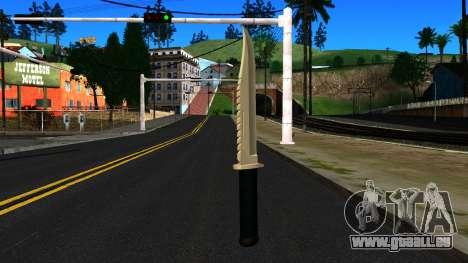 Knife from GTA 4 pour GTA San Andreas deuxième écran