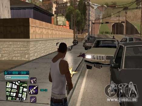 Beautiful C-HUD pour GTA San Andreas