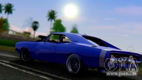 HardCore ENB pour GTA San Andreas troisième écran