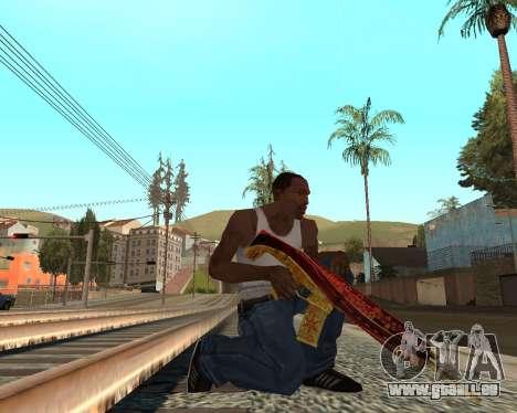 Neues Jahr-Waffen-pack v2 für GTA San Andreas