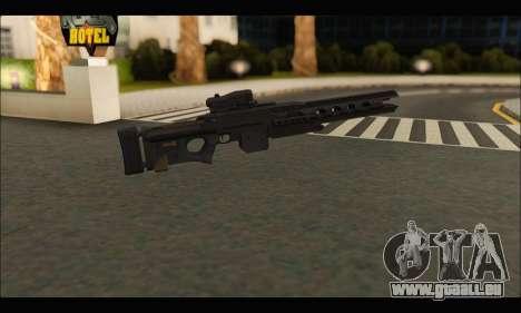 BF4 Final Stand DLC Rorsch Mk-1 pour GTA San Andreas deuxième écran