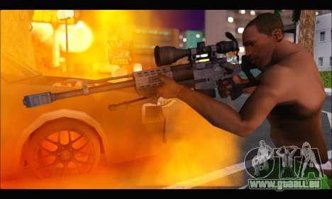 Raab KM50 Sniper Rifle From F.E.A.R. 2 pour GTA San Andreas