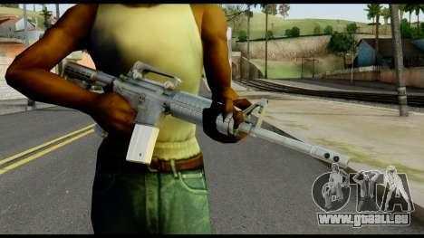 Colt Commando from Max Payne pour GTA San Andreas troisième écran