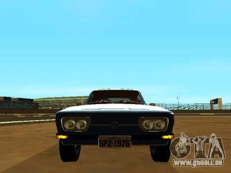 Volkswagen SP2 Original pour GTA San Andreas sur la vue arrière gauche