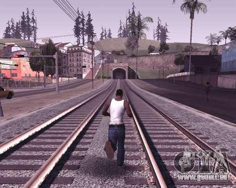 Colormod by Shane pour GTA San Andreas deuxième écran