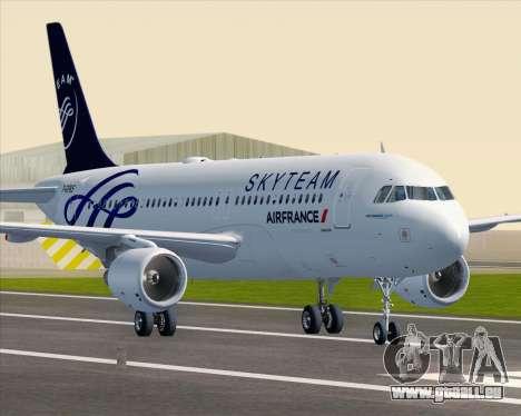 Airbus A320-200 Air France Skyteam Livery pour GTA San Andreas