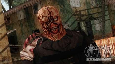 Resident Evil Skin 9 pour GTA San Andreas troisième écran