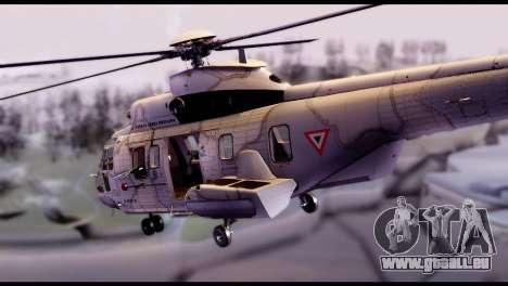 EC-725 Super Cougar pour GTA San Andreas laissé vue