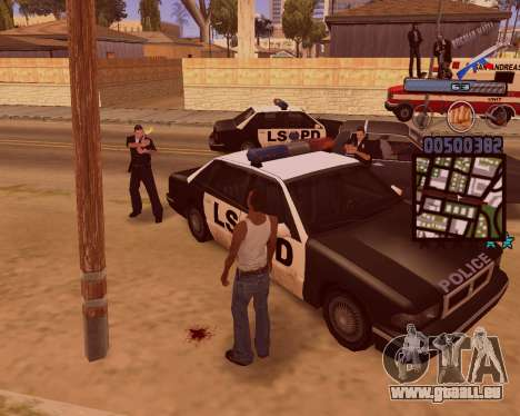 C-HUD Russian Mafia für GTA San Andreas fünften Screenshot