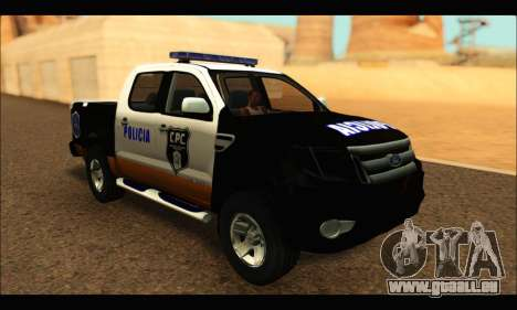 Ford Ranger P.B.A 2015 Text3 für GTA San Andreas