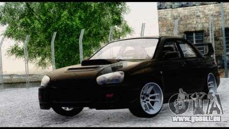 Subaru Impreza Hellaflush 2004 für GTA San Andreas