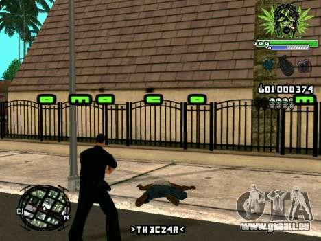 C-HUD Marihaus pour GTA San Andreas cinquième écran