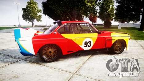 BMW 3.0 CSL Group4 1973 Art für GTA 4 linke Ansicht