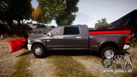 Dodge Ram 3500 Plow Truck [ELS] pour GTA 4 est une gauche