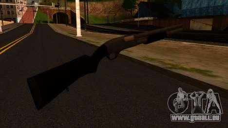 Noir MP-133 Silver pour GTA San Andreas deuxième écran