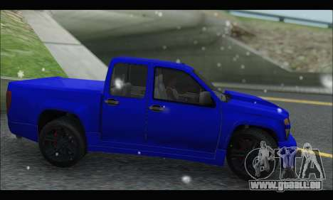 Chevrolet Colorado Codered 2004 für GTA San Andreas linke Ansicht