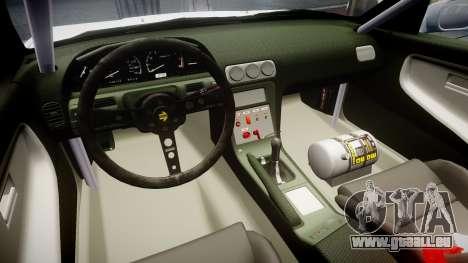 Nissan 240SX Sil80 für GTA 4 Rückansicht