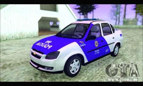 Chevrolet Corsa Classic Policia de Santa Fe für GTA San Andreas