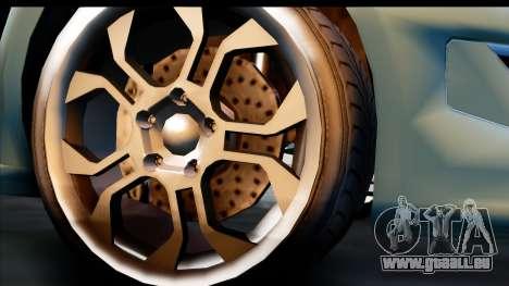 GTA 5 Grotti Carbonizzare v3 (IVF) pour GTA San Andreas vue de droite