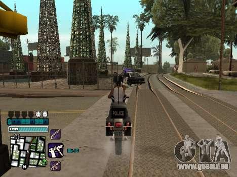 Beautiful C-HUD pour GTA San Andreas quatrième écran