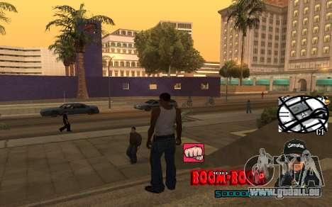 C-HUD Boom-Boom pour GTA San Andreas