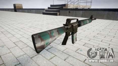 Le M16A2 fusil de varsovie pour GTA 4 secondes d'écran