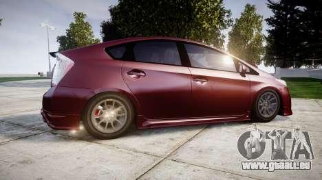 Toyota Prius pour GTA 4 est une gauche
