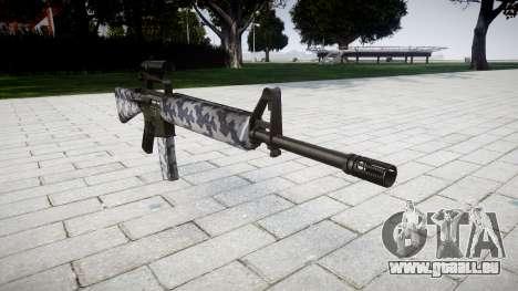 Die M16A2 Gewehr [optisch] Sibirien für GTA 4