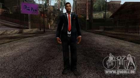 GTA 4 Skin 23 pour GTA San Andreas