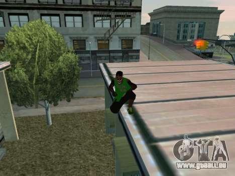 Fam3 Skin pour GTA San Andreas cinquième écran