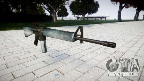 Die M16A2 Gewehr eisigen für GTA 4