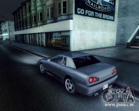 Graphique Mod v5.0 для GTA San Andreas pour GTA San Andreas troisième écran