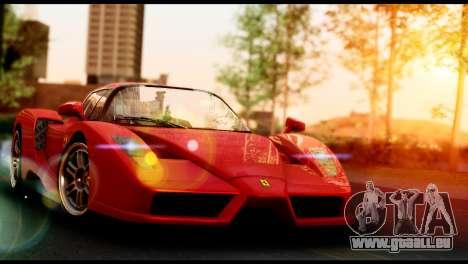 Ferrari Enzo 2002 pour GTA San Andreas vue de droite