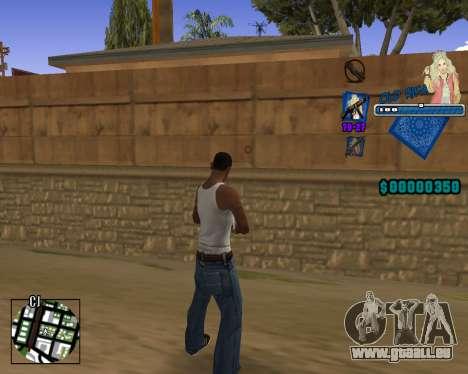 C-HUD Old Rifa pour GTA San Andreas