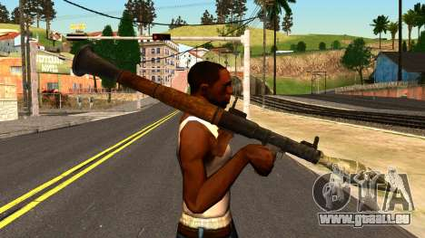 Rocket Launcher from GTA 4 für GTA San Andreas dritten Screenshot