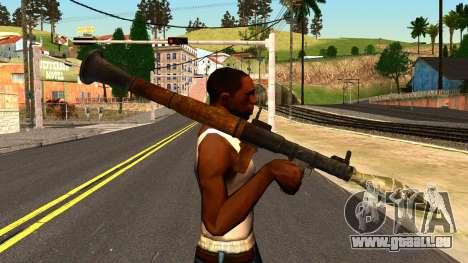 Rocket Launcher from GTA 4 pour GTA San Andreas troisième écran