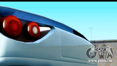 GTA 5 Grotti Carbonizzare v3 (IVF) pour GTA San Andreas sur la vue arrière gauche