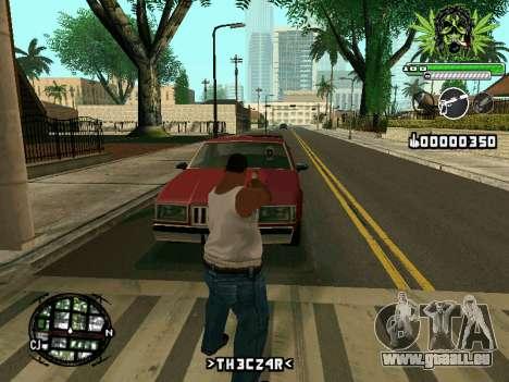 C-HUD Marihaus für GTA San Andreas dritten Screenshot