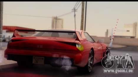 New ZR-350 (ZR-380) v1.0 pour GTA San Andreas vue arrière