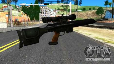 Sniper Rifle from GTA 4 für GTA San Andreas zweiten Screenshot