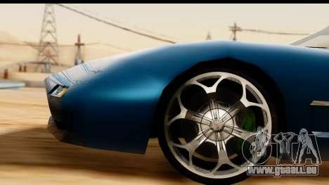 New ZR-350 (ZR-380) v1.0 pour GTA San Andreas vue de côté