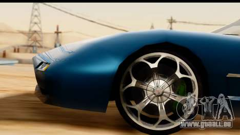 New ZR-350 (ZR-380) v1.0 für GTA San Andreas Seitenansicht