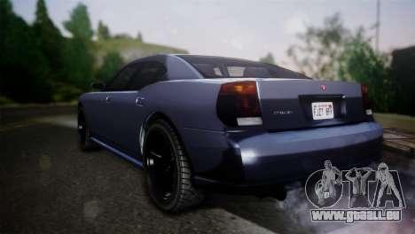 Bravado Buffalo Sedan v1.0 (HQLM) pour GTA San Andreas laissé vue