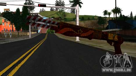 Weihnachten-Combat Shotgun für GTA San Andreas